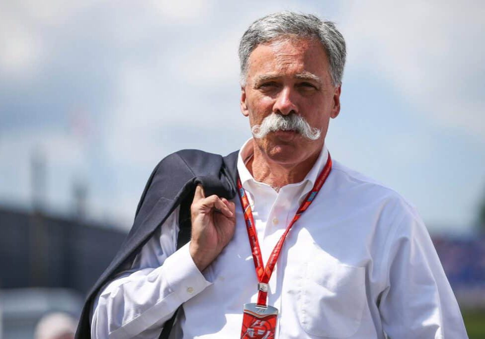SPIELBERG,AUSTRIA,07.JUL.17 - MOTORSPORTS, FORMULA 1 - Grand Prix of Austria, Red Bull Ring, free practice. Image shows Chase Carey (Formula One Group). Photo: GEPA pictures/ Daniel Goetzhaber - For editorial use only. Image is free of charge.