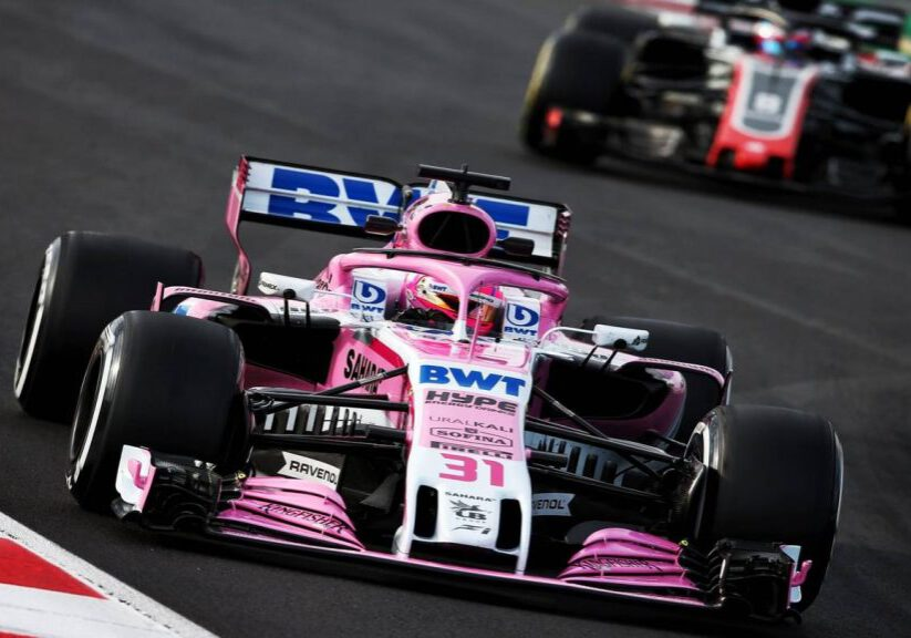 Force India 2018