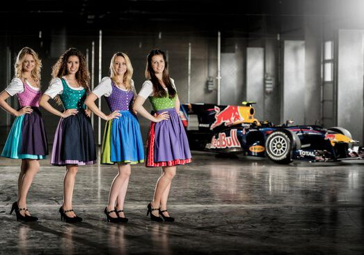 The Formula Unas 2014 pose for a portrait at their teambuilding days at the Red Bull Ring in Spielberg, Austria on May 31st, 2014