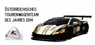 Tourenwagenteam des Jahres 2014