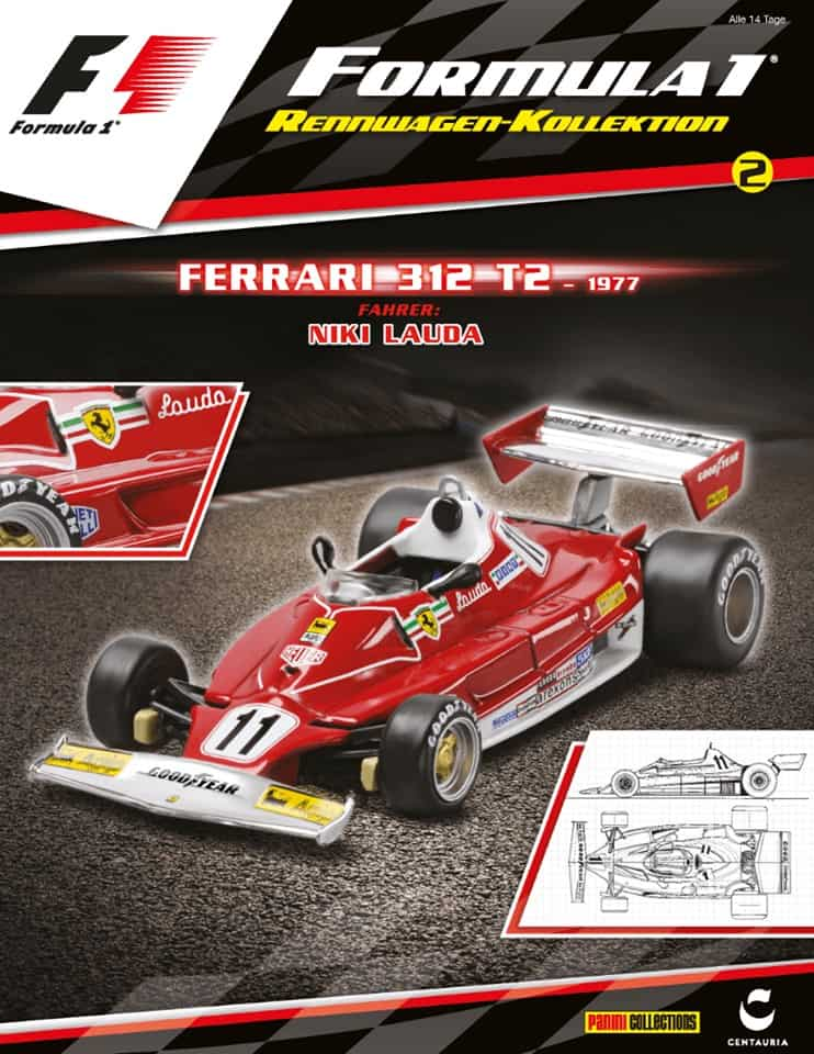 laudas ferrari aus der formel 1 rennwagen kollektion ist. Black Bedroom Furniture Sets. Home Design Ideas