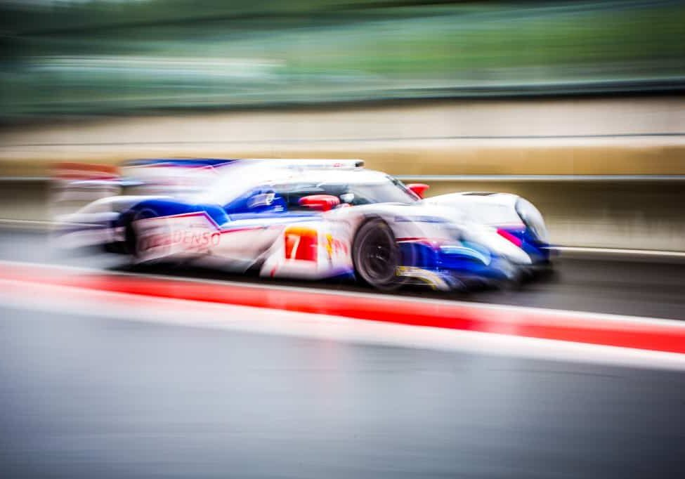 Free Practice One - Alexander Wurz (AUT) / St?phane Sarrazin (FRA) / Kazuki Nakajima (JPN) driving the #7 LMP1 Toyota Racing (JPN) Toyota TS 040 - Hybrid / 6 Hours of Spa-Francorchamps / Circuit Spa-Francorchamp / Belgium
