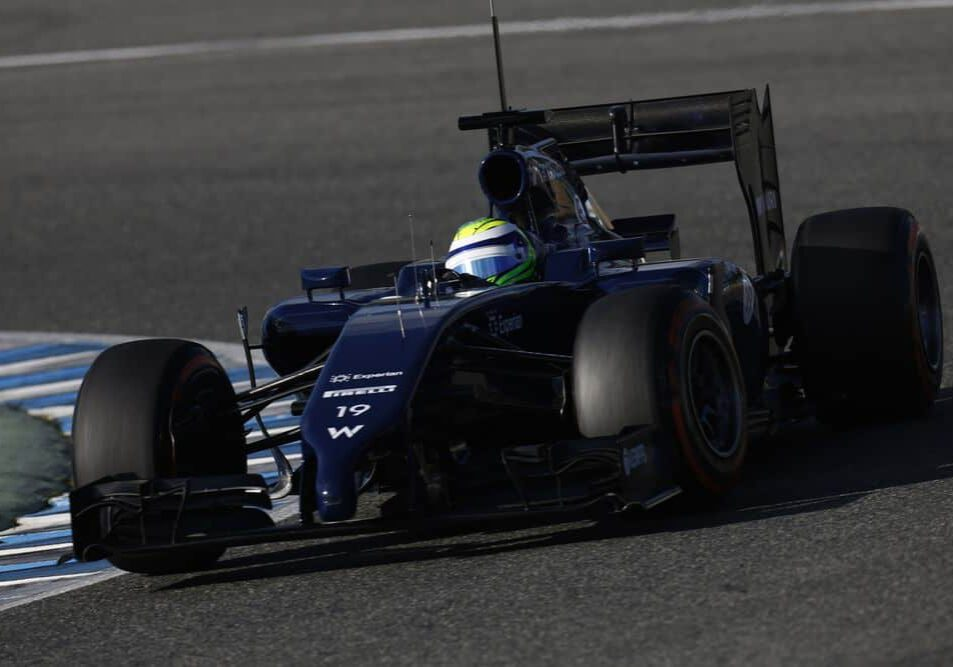 2014 F1 Pre Season Test 1 - Day 3 Circuito de Jerez, Jerez, Spain. Thursday 30 January 2014. World Copyright: Andrew Ferraro/LAT Photographic. ref: Digital Image _79P2181