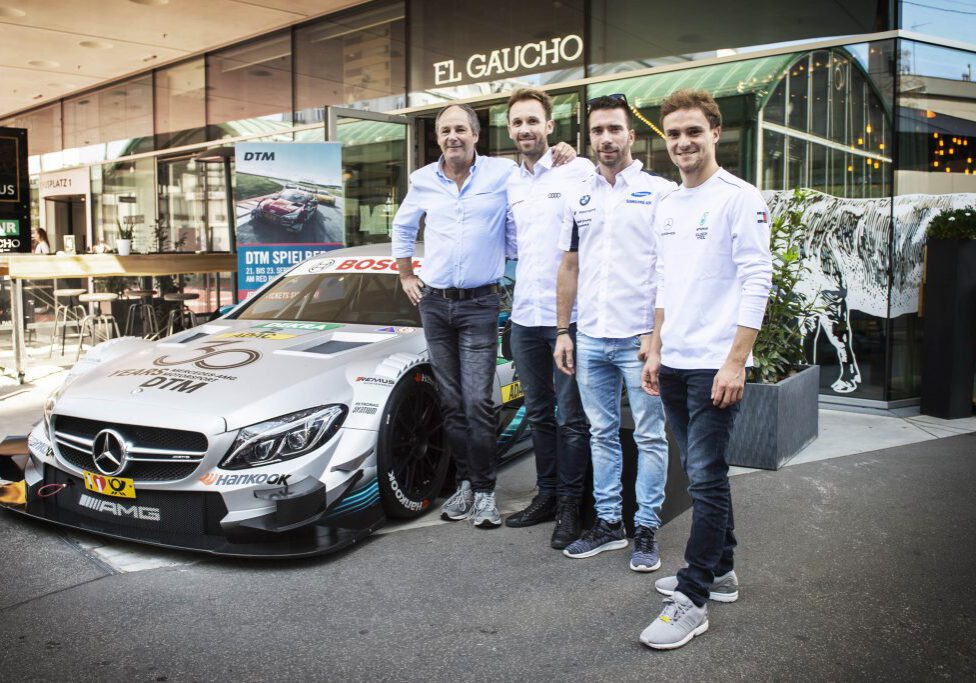 seen at DTM Spielberg Media Day in Vienna, Austria on September 12, 2018