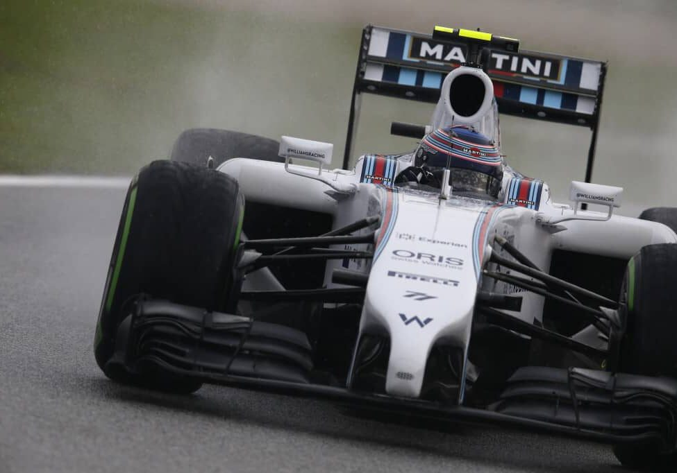 Sepang International Circuit, Sepang, Kuala Lumpur, Malaysia. Saturday 29 March 2014. Valterri Bottas, Williams FW36 Mercedes. Photo: Steven Tee/Williams F1. ref: Digital Image _L0U5994