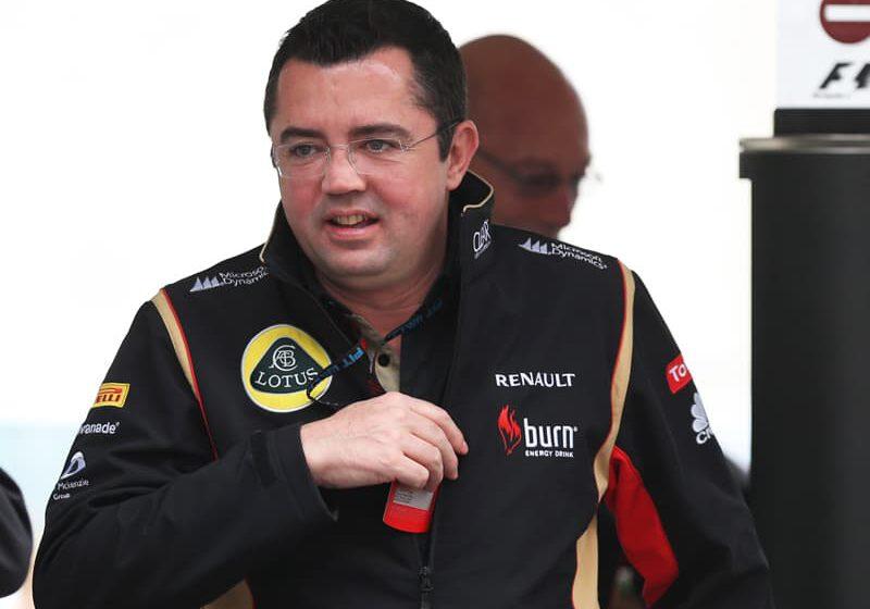 Boullier, (c) Lotus Renault F1